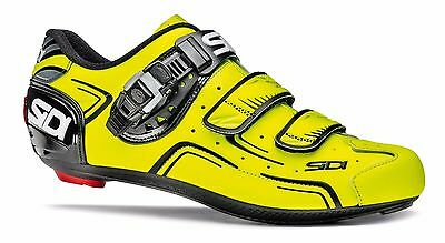 Scarpa Bici Sidi Level Giallo Fluo/nero Bike Road Tg. 42