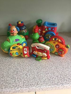 Joblot Of Vtech And Fisher- Price Toys