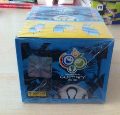 Panini World Cup 2006 Stickers Sealed Box of 100 sticker packets MINT Condition