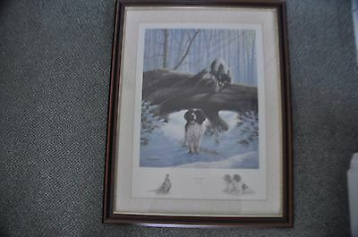 Nigel Hemming 'over And Under' Limited Edition Framed Print