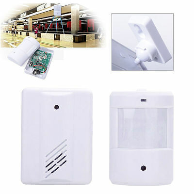 Wireless PIR Shop Store Entry Visitor Door Bell Chime HomeWelcome Motion Sensor