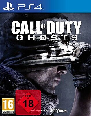 PS4 Spiel Call of Duty Ghosts NEUWARE