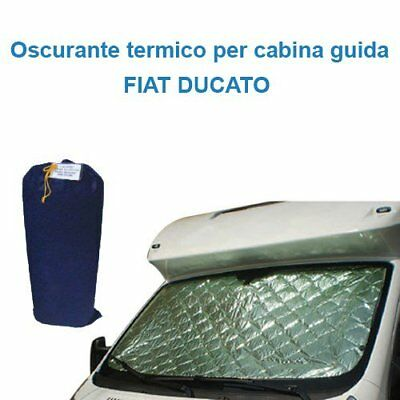 Darkening internal thermal Fiat Ducato cab Guide 3 pieces Camper