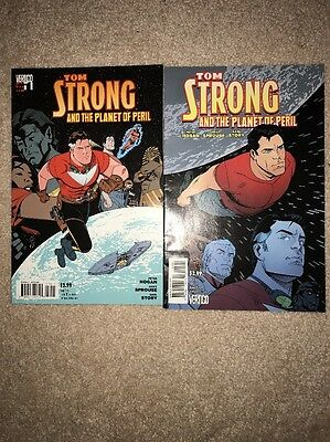 Tom Strong And The Planet Of Peril 1,5