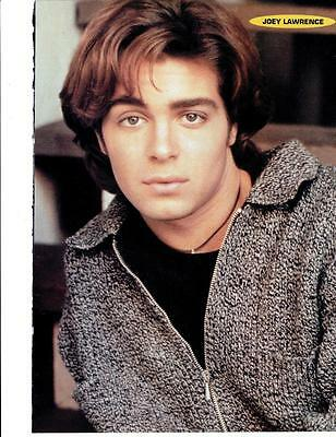 Joey Lawrence teen magazine pinup clipping Bop Tiger Beat Teen Beat Young