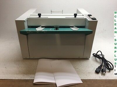 Nagel Bookletmaker Foldnak M2 Booklet Maker GOOD COND. - TESTED WORKING PROPERLY