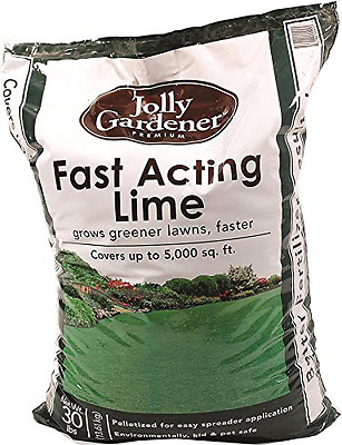OLD CASTLE LAWN & GARDEN 54055009 098962 Jolly Gardner Fast Acting Lime, 5000 sq