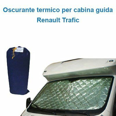 Darkening internal thermal Renault Trafic cab Guide 3 pieces Camper