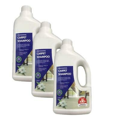 3x Vax AAA Carpet Formula Cleaning Machine Woolsafe Solution Shampoo 750ml