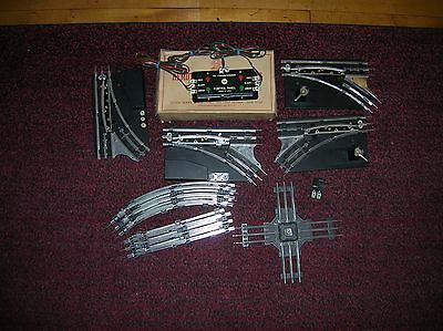 """MARX """" Track Pack"""" Remote and Manual Switches + track LN Lot # 10824"""