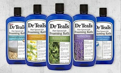 Dr Teal's Pure Epsom Salt Foaming Bath - 1000ml