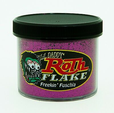 Lil' Daddy Roth Metal Flake - Freekin Fuschia