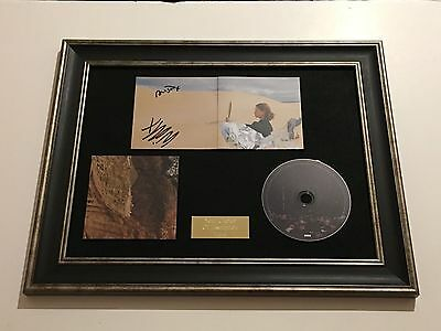 PERSONALLY SIGNED//AUTOGRAPHED JHENE AIKO SOULED OUT CD FRAMED PRESENTATION.