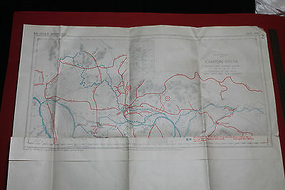 May1945 Canton Delta Beaches Landing Places Ports & Tow Landings Admiralty Chart
