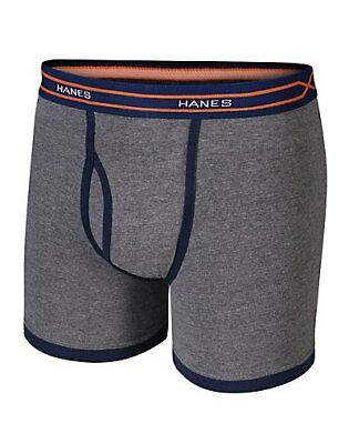 Hanes X-Temp Boys' Ringer Boxer Brief with Comfort Flex Waistband 4-Pack