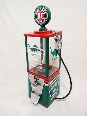 SINCLAIR dino gas vintage gumball machine candy dispenser