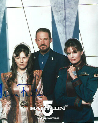 BABYLON 5 Delenn MIRA FURLAN signed photo!