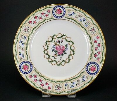 """Haviland Louveciennes Dinner Plate - 10 1/4"""" - Amazing Condition - Red Backstamp"""