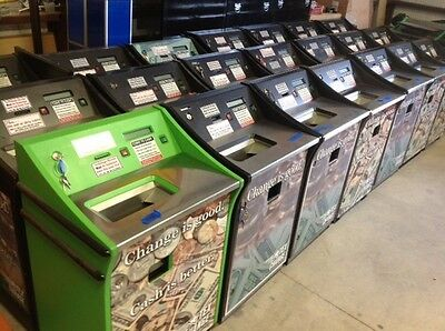 22 Self service coin counting machines, including parts and training.