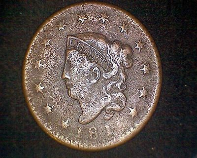 1816 Coronet Head Large Cent #14378