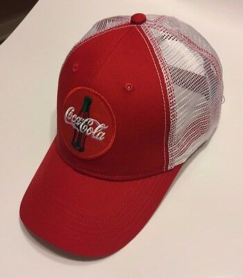 NEW Coca-Cola Coke Trucker Hat Cap Red/White Adjustable One Size GREAT GIFT