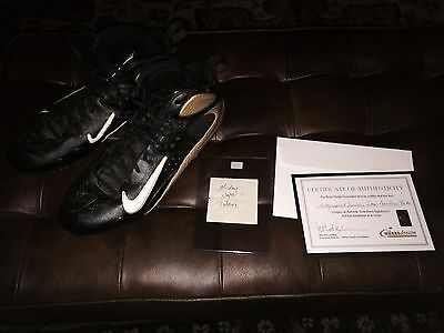 Drew Brees 2007 New Orleans Saints Game Used Cleats vs Titans w/ Foundation COA