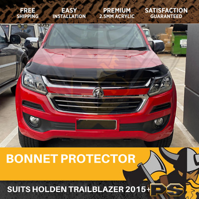Bonnet Protector for Holden Colorado RG S2 2016-2017 MY17 Tinted