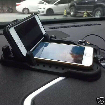 Car Phone Holder Stand  Magnetic Suction Anti Slip  Car Charging Mat Supporting