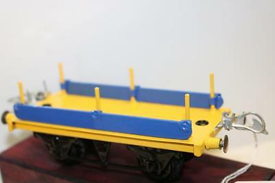 Hornby Lms  O Gauge Flat Wagon For Parts  Ks134