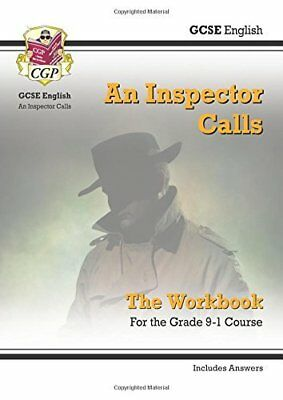New GCSE English - An Inspector Calls Workbook  by CGP Books New Paperback Book