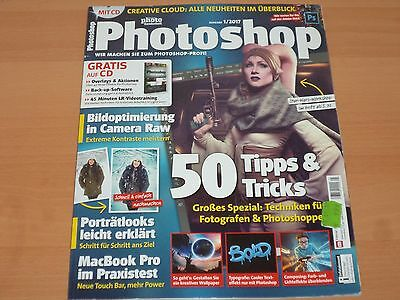 Digital Photo Sonderheft Photoshop + CD Ausgabe 1/2017 Neuwertig!
