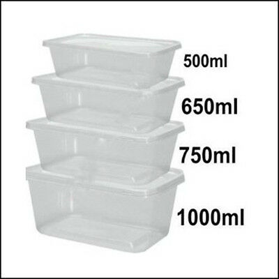 NSW ONLY, Rectangular takeaway containers (50pcs lids + 50pcs containers) bulk!!