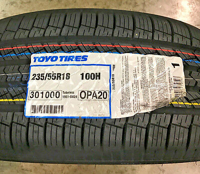 4 New 235 55 18 Toyo Open Country A20 Tires
