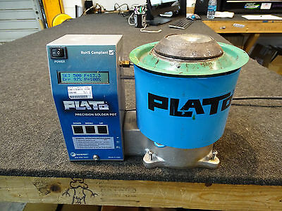 Plato SP-500T Precision ESD Solder Pot With LCD Display & Variable temp set