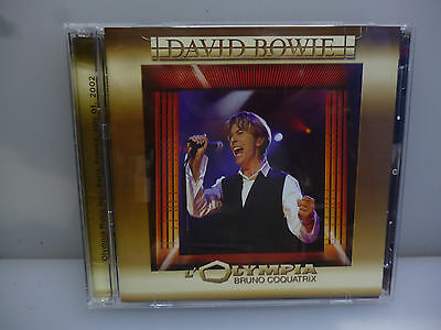 David Bowie-Live At Olympia. Paris, France 2002-2 Cd In A Jewel Case.-New.sealed