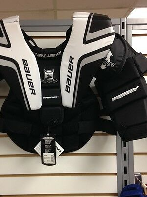Bauer Prodigy 2.0 youth goalie chest and arm protector L/XL NEW!!!