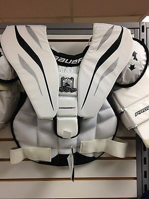 Bauer Prodigy youth goalie chest and arm protector L/XL NEW!!!