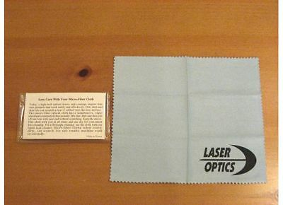 12 - MICROFIBER SOFT SUEDE LENS EYEGLASS CLEANING CLOTHS W/POUCH - Made in Korea