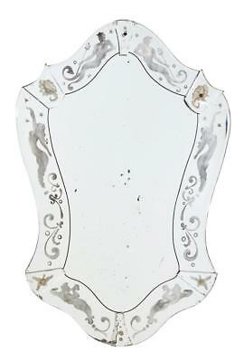 Art Deco Mythical Themed Wall Mirror