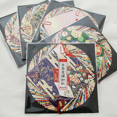 Japanese Yuzen Washi Origami Paper Pack - 30 All Yuzen Sheets Assortment - 10cm