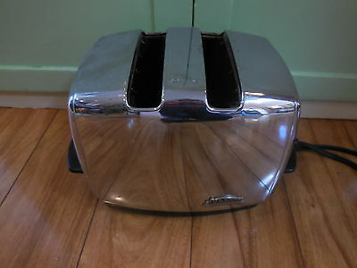 SUNBEAM VINTAGE TOASTER Chrome Model T-35 For Parts / Repair