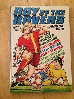 Roy Of The Rovers Annual 1982