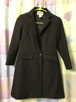 Reed Hill Children's Saddleseat Day Coat Black Polyester 8
