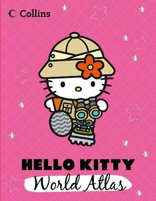 Hello Kitty World Atlas by Collins Maps Book The Cheap Fast Free Post