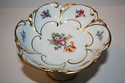 Pretty Porcelain Candy Dish Made in East Germany