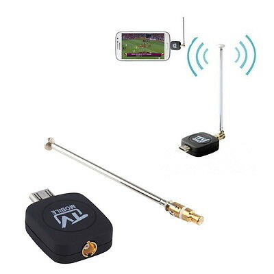 DVB-T Micro USB Tuner Mobile TV Receiver Stick For Android Tablet Pad Phone GM