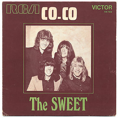 Solo Copertina - Cover Only - The Sweet - Co-Co - Fra Ex