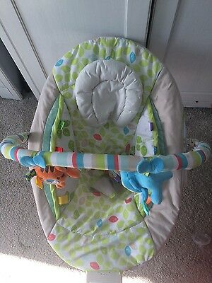 baby's bouncer mult-colour from  John Lewis