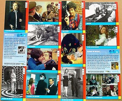 The Avengers (1960's TV Series 2) 100 Mint Trading Card Base Set by Strictly Ink