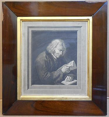 Benjamin Franklin 'The Politician' engraving by Thomas Ryder after S Elmer 1824